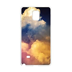 Colorful Clouds Sky White Phone For LG G3 Case Cover