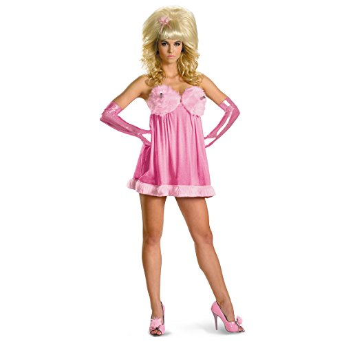 [Fembot Sassy Deluxe Costume - X-Large - Dress Size 18-20] (Deluxe Sassy Fembot Costumes)