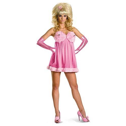 [Fembot Sassy Deluxe Costume - Medium - Dress Size 8-10] (Fembot Austin Power Costume)