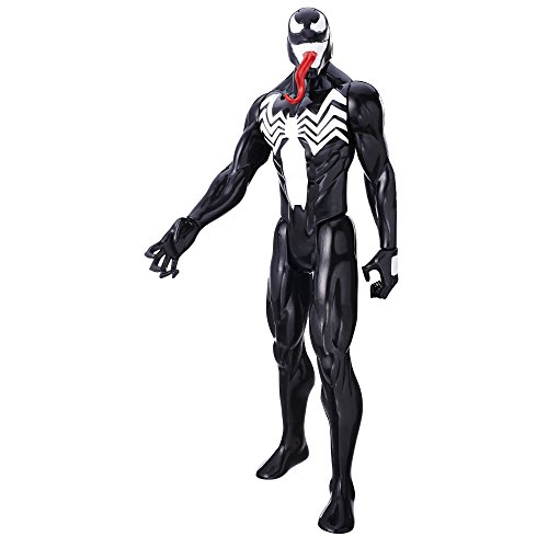 - Marvel Spider-Man Titan Hero Series Villains Venom Figure