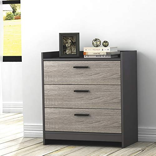 Endicot 3-Drawer Dresser - Java Brown/Sonoma | Model DRSSR - 97