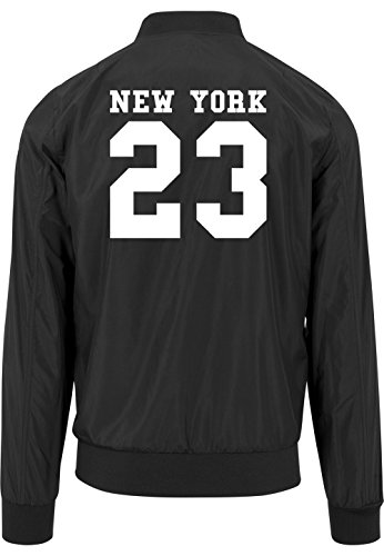 Freak Certified Nero Giacca New York Bomber 23 UqwnZ7F