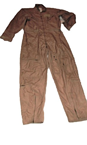 Authentic US Military Flyers Desert Tan Flight Suit CWU-27/P NOMEX size 44S NEW (Military Nomex Flyers)