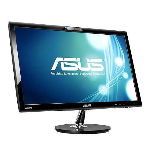 ASUS VK228H - VK228H 21.5'' LED 1920x1080 VGA DVI HDMI Speakers Webcam Black 3 year Warranty