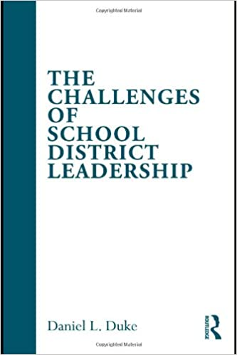 Book The Challenges of School District Leadership