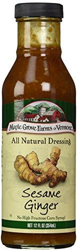 Maple Grove Farms Sesame Ginger Dressing, 12 oz (Sesame Ginger Dressing)