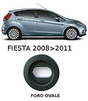 Amazon.es: El Alfombra coche, sprint01301, alfombrillas Moqueta Negra Antideslizante, bordo bicolor, salvatacco reforzado (goma, Fiesta MK7 10/2008 > 2011 ...
