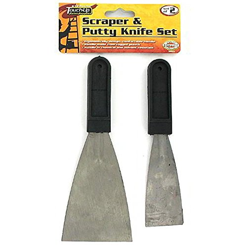 120 2 Piece scraper and putty knife set by FindingKing