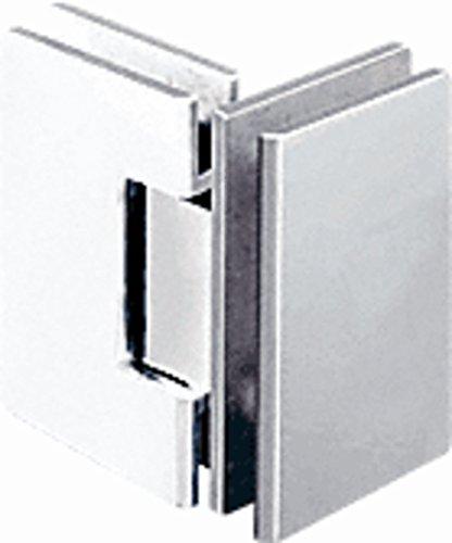 CRL Geneva 092 Series Chrome 90° Glass-To-Glass Hinges