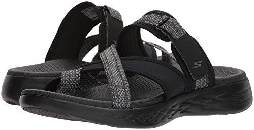 On 15308 The UK5 600 Colour Black Glow Skechers Size Go Grey UPwdn5Pq