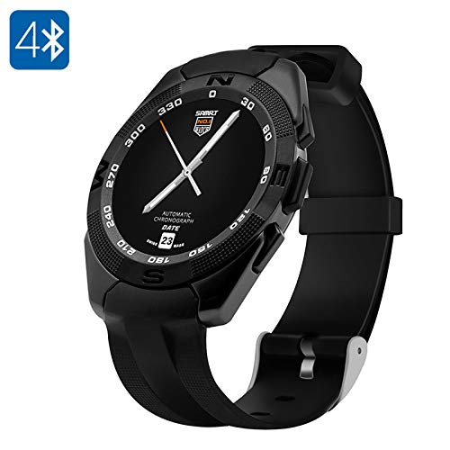 Amazon.com: Generic No.1 G5 Smart Watch - Heart Rate Monitor ...