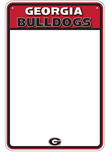 HangTime Georgia Bulldog Dry Erase Marker Board ()
