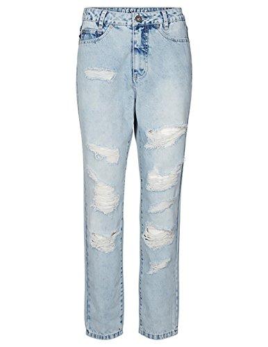 Jeans Bleu Desires Destroy Femme Light UX6TxHSw