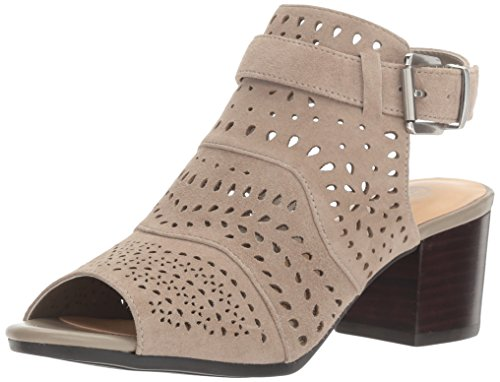 Bella Vita Women's Fonda Dress Sandal, Stone Kid Suede, 8.5 M US - Kid Suede Womens Sandals