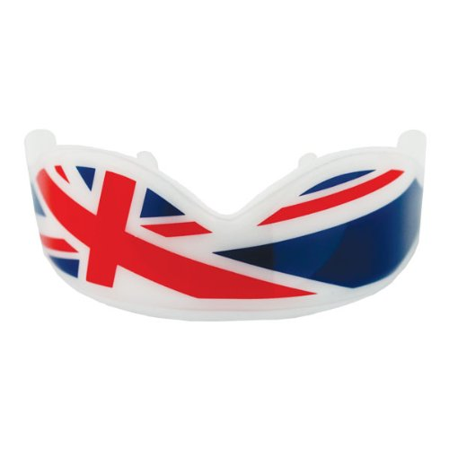 (Fight Dentist Union Jack Mouth Guard)