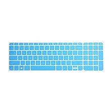 Leze - Ultra Thin Keyboard Cover Protector for HP Pavilion 15-e 15t-e 15z-e 15z-j 15-j 15z-b 15-b 15-n 15-d 15-g 15-p 15-Q 15-u 15-r HP ENVY m7-j 17-j 17t-j 17-e 17-f Laptop - Blue
