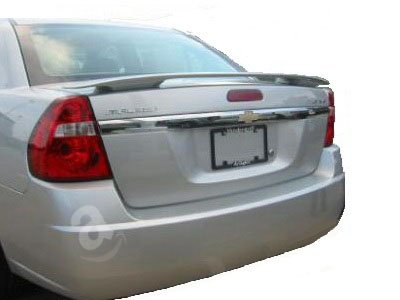 04-07 Chevrolet Malibu 4dr Factory Style Spoiler - Painted or Primed : WA218M Laser Blue Metallic Clearcoat 4dr Laser