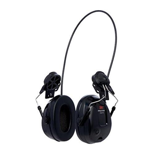 chollos oferta descuentos barato 3M Peltor MT13H220P3E ProTac III Slim Protección auditiva de auricular versión de casco color negro