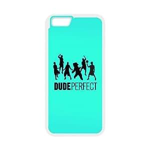 iPhone 6 4.7 pulgadas del teléfono Caso Funda Blanca Amigo Perfecto Logo Música X6N6OK duro Único Phone Case Funda
