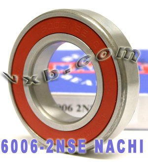 6006 Nachi Open Deep Groove Ball Bearing Made in Japan