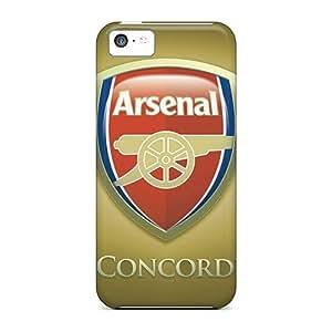 Iphone 5c IoA1865SXdn Custom Trendy Arsenal Fc Pictures Shockproof Hard Phone Covers -CristinaKlengenberg