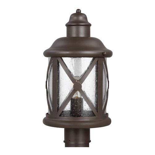 Seagull 8221401-71 One Light Outdoor Post Lantern by Seagull