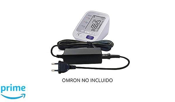 Reemplazo Omron 6V / DC 6 Volt Batería Cargador Adaptador Fuente de alimentación para 705-it, BP710N, BP742N, M2, M3, M6, M7, M10 Tensiómetro/Monitor de ...