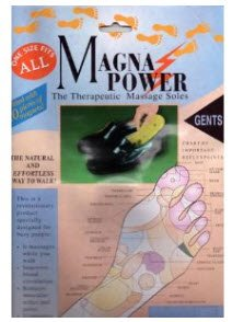 Magna Power Therapeutic Massage Insoles - Men