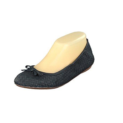 Suela Medianoche Con Cuero Mujer De Calzado Mimbre K Azul Capri Allan xPq070
