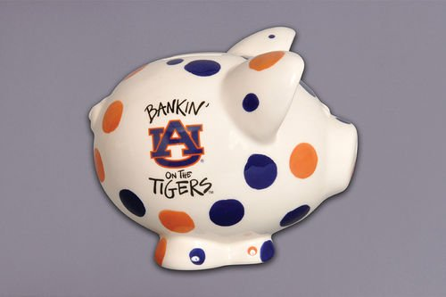 - Auburn Piggy Bank Ceramic Collegiate bank