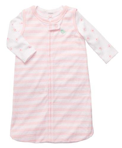 Carter's Baby Sleepbag and Tee Set (0-9 Months) (0-3 Months, Light Pink)