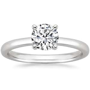 1 1/2 Carat Round Cut Diamond Solitaire Engagement Ring