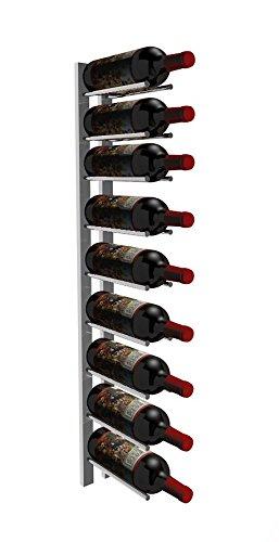 nickel wall wine rack - 9
