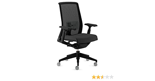 97c00321a292 Amazon.com  Haworth Very Task Chair  Adjustable Model - 4D Arms - Carpet  Casters - Lumbar Support - Black Base  Kitchen   Dining