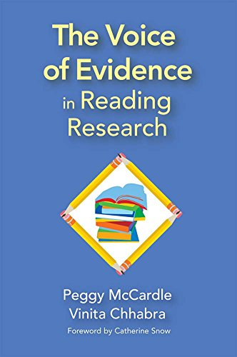 The Voice of Evidence in Reading Research