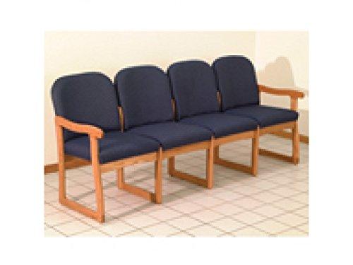 Prairie Four Seat Sofa by Wooden Mallet