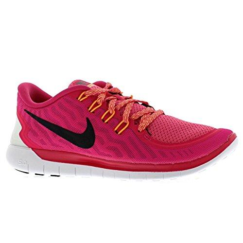 Nike Kvinna Gratis 5,0 Svart / Vit / Mörkgrå Fotbollsskor