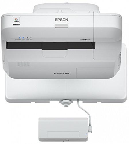 EPSON EB-1460Ui 3LCD WUXGA interaktiver Ultrakurzdistanzprojektor 1920x1200 16:10 4400 Lumen 16W Lautsprecher mit Fingertouch V11H726040
