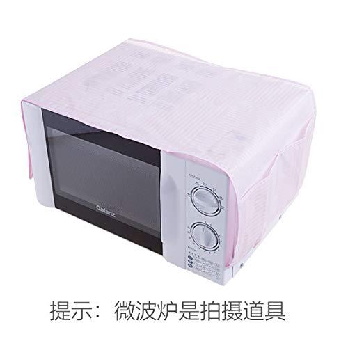 Microondas cubre horno cubierta de polvo cubierta de tela ...