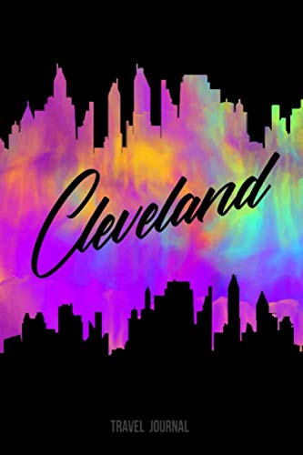 Cleveland Travel Journal: Blank Lined Vacation Holiday Notebook