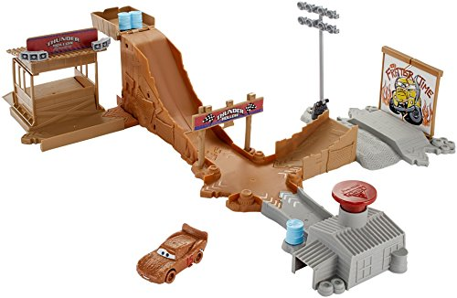 Disney Pixar Cars Playsets - Disney Pixar Cars 3 Thunder Hollow Challenge Playset