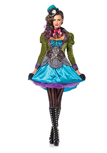 Jetsons Halloween Costumes (Deluxe Mad Hatter Women's Costume X-Small)