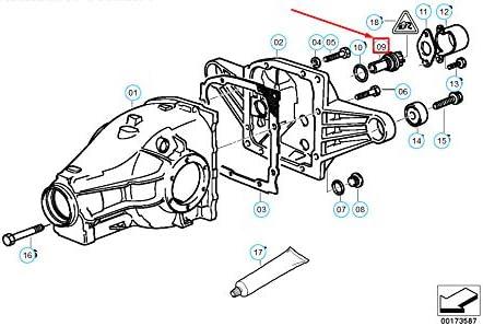 GTV INVESTMENT 3 E36 Fahrzeuggeschwindigkeitssensor 62168357020 8357020