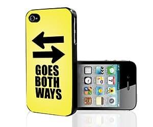 Goes Both Ways iPhone 4/4s case