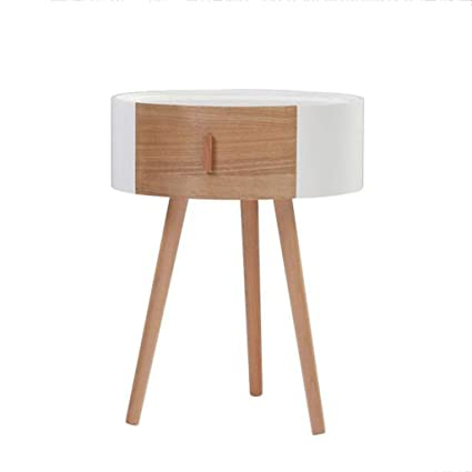 Amazon.com: Bedside table GJM Shop Bedside Cabinet Low Table ...