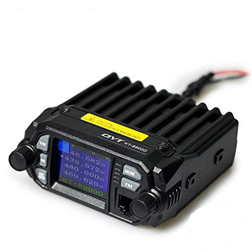 QYT KT-8900D Dual Band VHF/UHF Mobile Transceiver 25W/20W Mini Car Radio W/Free Cable by QYT