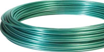Hillman Fasteners 122100 100-Feet Green Vinyl Jacketed Clothesline Wire