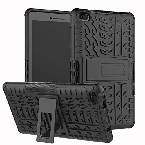 Für Lenovo Tab E7 Hülle, Colorful [Heavy Duty] Rugged Armor stoßfest Handy Schutzhülle Silikon Tasche Ständer Hülle Case…