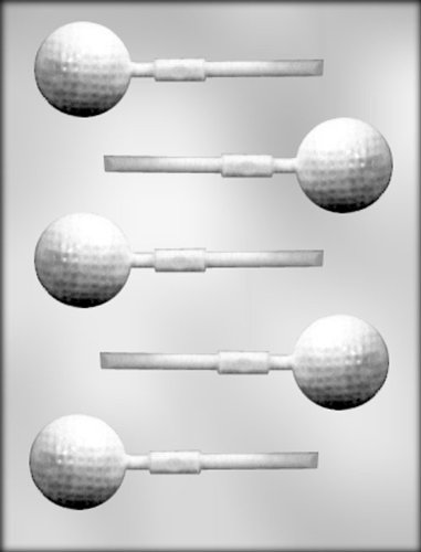 CK Products Golf Ball Sucker Chocolate Mold -