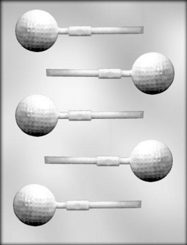 Golf Ball Candy Mold - CK Products Golf Ball Sucker Chocolate Mold